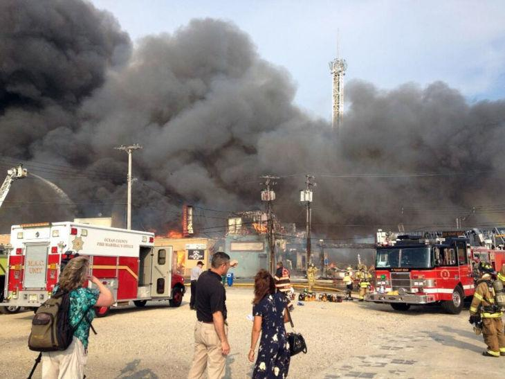 NJ Boardwalk Fire