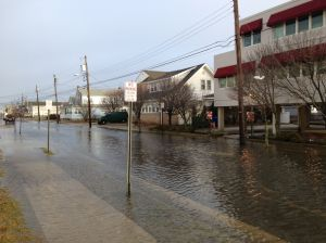 flooding margate