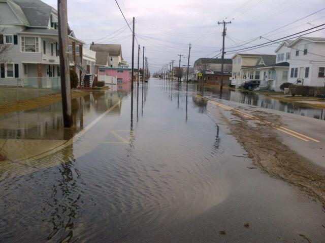 flooding cape
