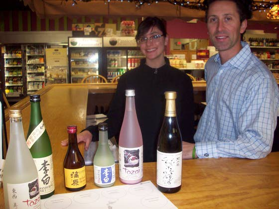 Passion Vines wines sharing the secrets of sake and more