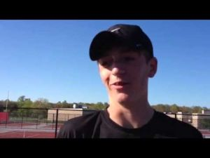 Middle Township's Jeremy Novick talks about winning the CAL tennis title