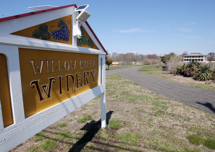 west cape may sues willow creek winery over weddings. Black Bedroom Furniture Sets. Home Design Ideas