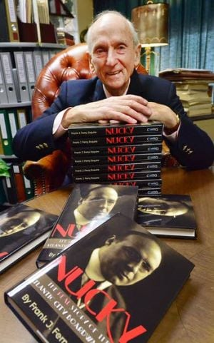 Telling A Legend's Tale: Frank Ferry took 13 years to research and write 'Nucky: The Real Story of the Atlantic City Boardwalk Boss,' a biography on the Atlantic City political boss. Johnson is the basis for the main character of HBO's 'Boardwalk Empire' series.