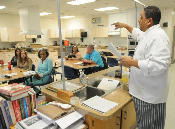 Oakcrest Teen Center sponsors healthy cooking demo for staff
