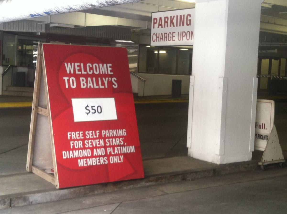 Bally's parking fee