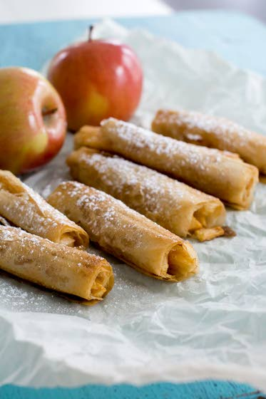 A fun, healthy take on apple pastries