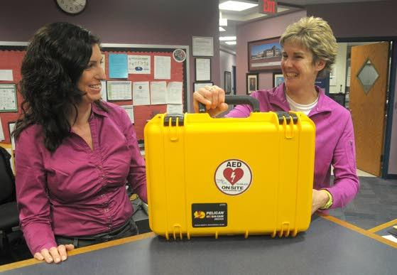Davies Middle School does its part  to save lives in sudden cardiac arrest