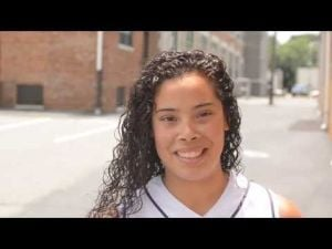 Interview with Danielle Lugo, of Sacred Heart softball team