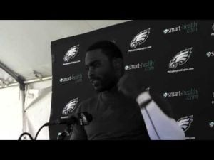 Michael Vick discusses the Redskins
