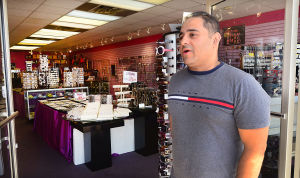 JL08 Holiday Weekend: Owner Harmon Ahluwalia, of Ocean City, talks about weekend crowds at Silver Secret in Ocean City. - Ben Fogletto