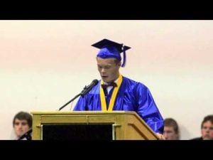 Austin Neri St Augustine Valedictorian