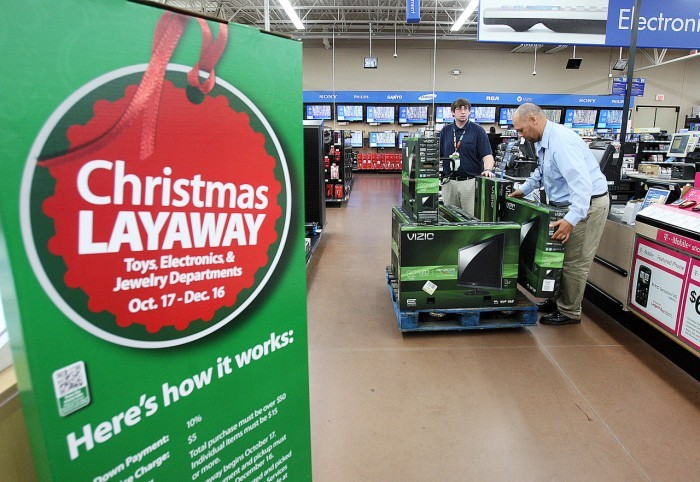 When Layaway is available. Walmart Layaway is available in stores during the holiday season, but check your local store for the exact dates between early September and mid-December. (Certain store locations offer the service year-round for Jewelry purchases.) Please note that Layaway is not offered online; it's only for in-store purchases. How.