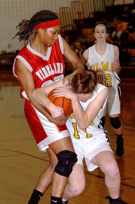vineland girls basketball