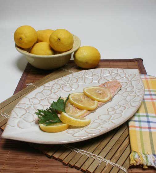 Lemon-pepper trout is fast,  simple, bursting with flavor