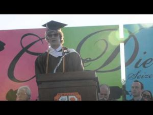 Cumberland Regional High School's Valedictorian Speech