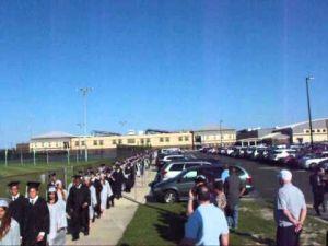 Egg Harbor Township High School graduation