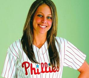 Phillies ballgirl