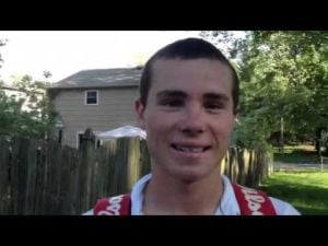 Interview with Middle Township H.S. tennis player Andrew Hoy