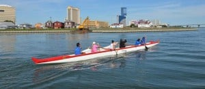Sand in my Shoes: Club seeks to bring outrigger racing to the Jersey shore