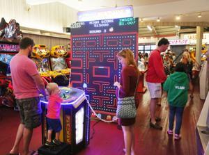 GAMES at Jilly's Arcade & Ice Cream in Ocean City