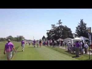 Fans follow Stacy Lewis at first round of ShopRite LPGA Classic