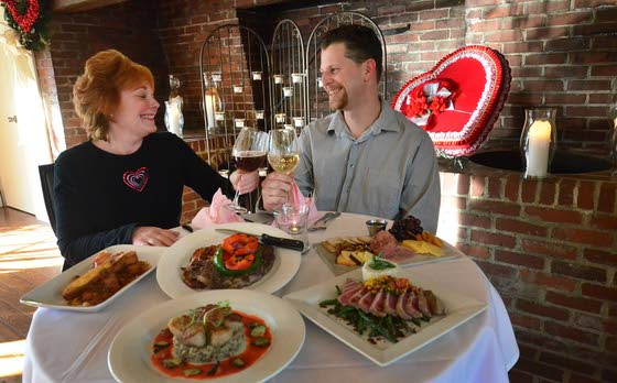 Sweeten up Your V-DayArea restaurants bring out best menus for the holiday