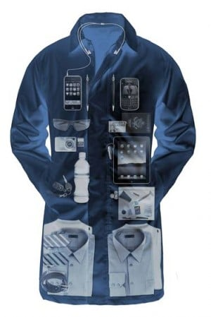 Travel briefs: Scottevest carry-on coat; London double-decker buses get an update; surfing thePurplePassport.com