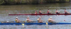 County crew rowing