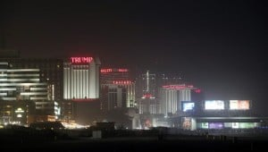 Atlantic City's skyline