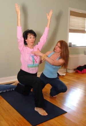 Going to the mat for cancer survivorsResearchers studying yoga benefits for cancer patients