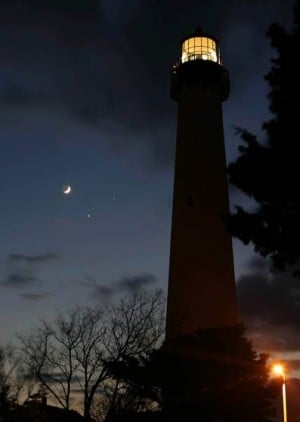 Full-moon lighthouse climbs in A.C. and Cape May highlight events At The Shore Today