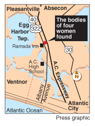Bodies of four women found