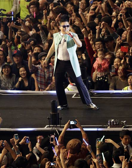 Cashing in on Gangnam Style