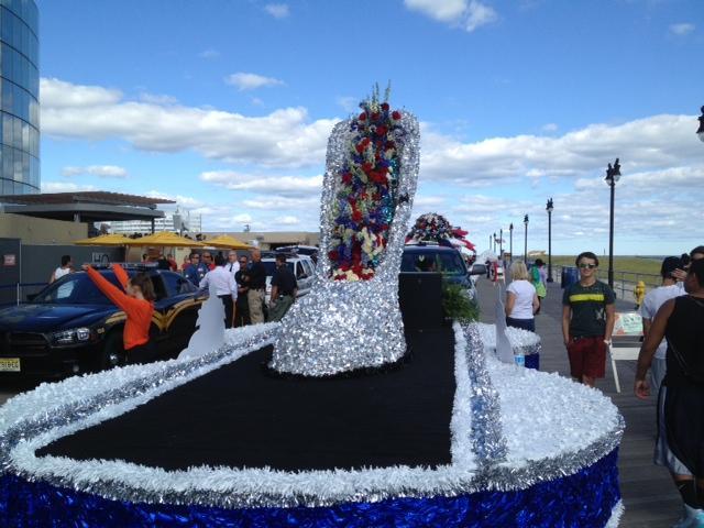Miss America parade preparations