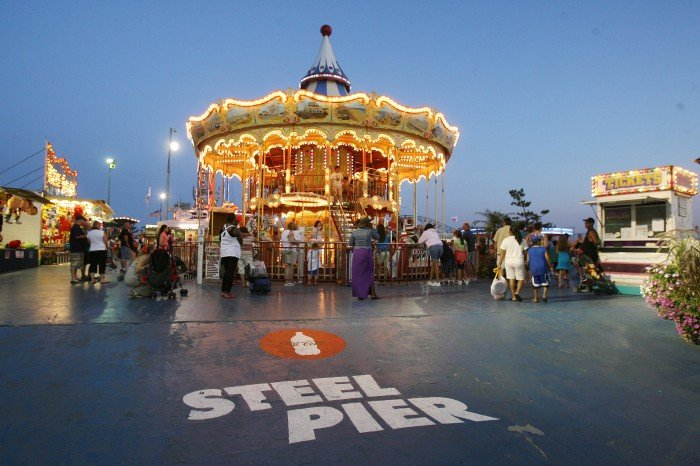 steel pier