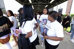 Funeral of Daisia Sulton in Bridgeton