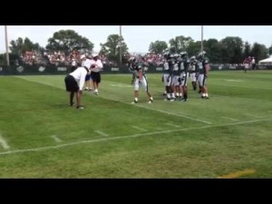 Eagles training camp II, Aug. 3, 2012