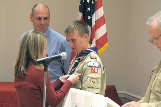Absecon's newest Eagle Scout showed leadership qualities at 6
