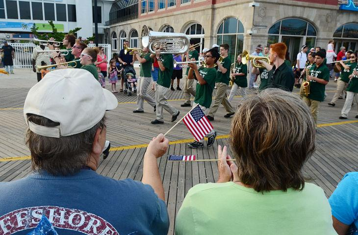 AC Salutes Armed Forces Parade