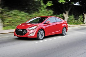 2013 Hyundai Elantra Coupe Pounds Pavement in Style