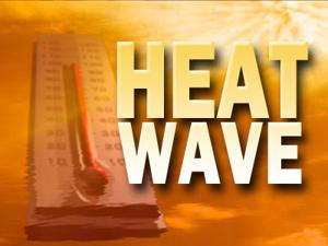 Heat index may reach 105 degrees with coming heat wave