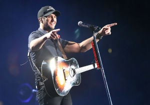 Luke Bryan Review: Luke Bryan at Atlantic City's Boardwalk Hall. - Photo by Ben Fogletto