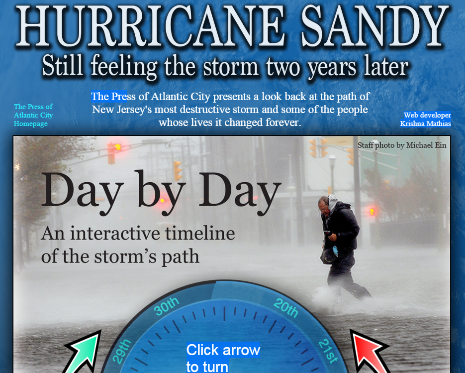 Hurricane Sandy Edge Project