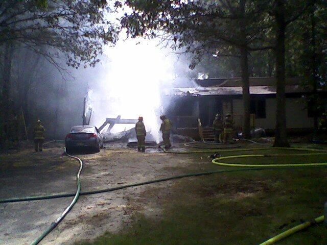 Galloway house fire
