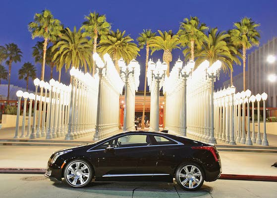Electric Luxury: 2014 Cadillac ELR