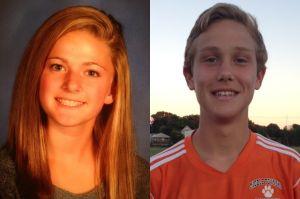 Donio-enscoe And Kurkowski: The Press High School Athletes of the Week: Hammonton's Jane Donio-Enscoe, left, and Middle Township's Scott Kurkowski