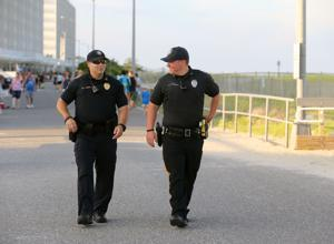 Shore police keeping boardwalk conduct in line