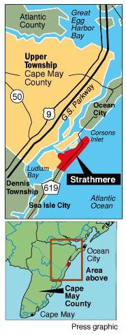 Strathmere locator