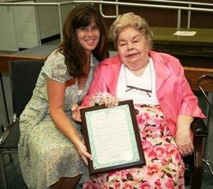 West Cape May's Parade Lady honored during annual Women's Equality Day Tea