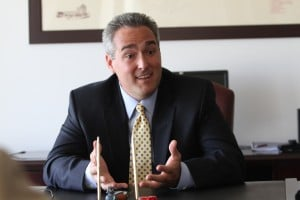 <p>Matthew Levinson, the new chairman of the Casino Control Commission, sits down for a Sunday Conversation interview Wednesday, Sept 26, 2012.</p>
